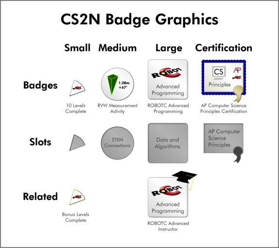 CS2N Badge Graphics