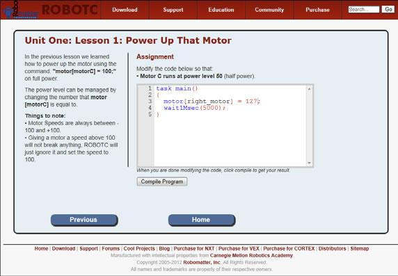 Robotc-code-tutor