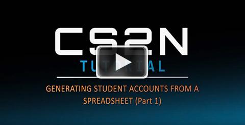 Generating accounts Part 1