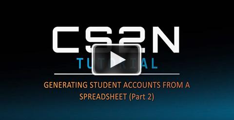 Generating accounts Part 2